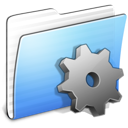 Aqua Stripped Folder Developer