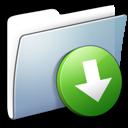 Graphite Smooth Folder DropBox
