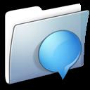 Graphite Smooth Folder iChats