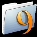 Graphite Stripped Folder Classic