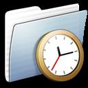 Full Size of Graphite Stripped Folder Clock