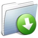 Graphite Stripped Folder DropBox
