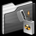 Burnable Folder black