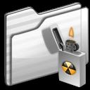 Burnable Folder white