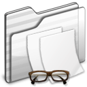 Documents Folder white