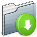 Drop Box Folder graphite