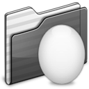 Egg Folder black