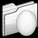 Egg Folder white