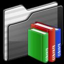Full Size of Library Folder black