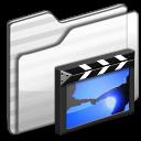 Movies Folder white