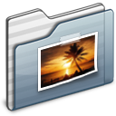 Pictures Folder graphite