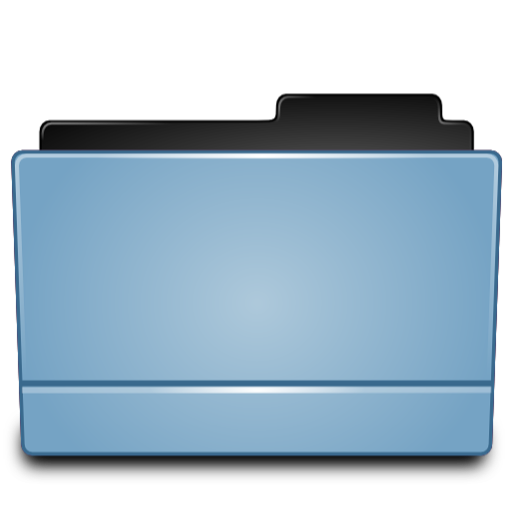 Full Size of Folder blue (Leopard)