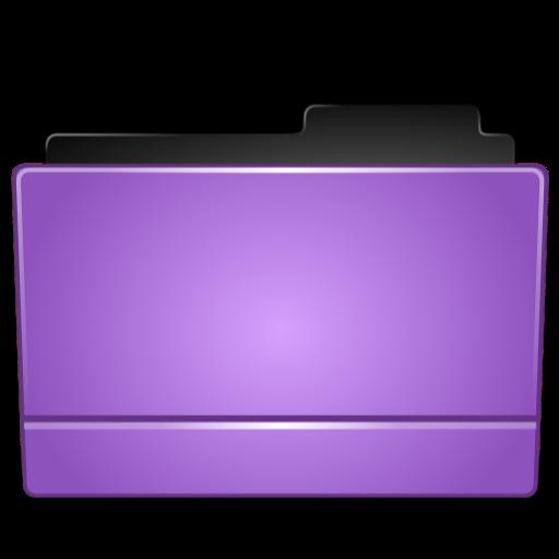 Full Size of Folder purple
