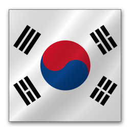 Full Size of South Korea flag