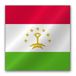 Full Size of Tajikistan flag