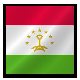 Full Size of Tajikistan flag