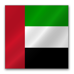 Full Size of United Arab Emirates flag