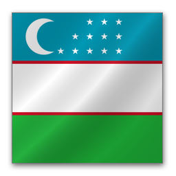 Full Size of Uzbekistan flag