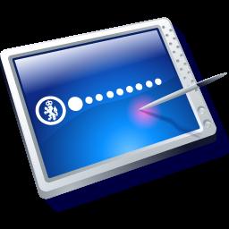Full Size of tablet blue