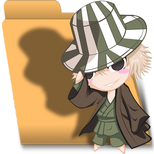 Full Size of Bleach Chibi Urahara folder