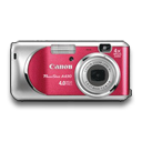 Powershot A430 Rouge