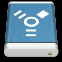 Blue External Drive FireWire