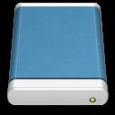 Blue External Drive