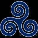 Blue Triskele
