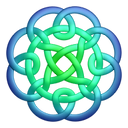 Bluegreen circleknot