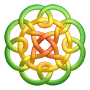 Greenyellow circleknot