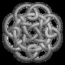 Grey circleknot