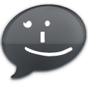 iChat Black Smile
