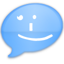 iChat Blue Smile