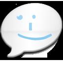 iChat Milk Blue Smile