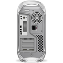 Power Mac G4 back quicksilver