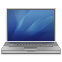 PowerBook G4 blue