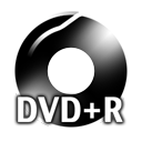 Black DVDplusR