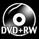 Black DVDplusRW