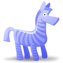 Zebra 128x128