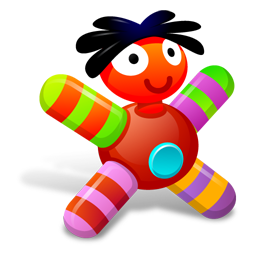 Full Size of Colored Red Doll