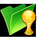 Folder trophy