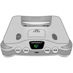 Full Size of Nintendo 64 silver