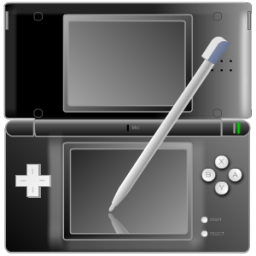 Full Size of Nintendo DS with pen Black