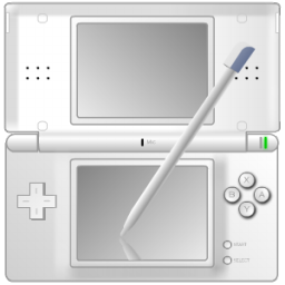 Full Size of Nintendo DS with pen