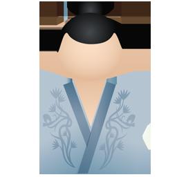Full Size of Kimono women blue