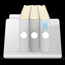 Library Folder stripes