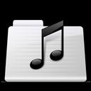 Music Folder stripes