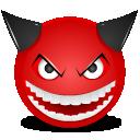 Devil laught