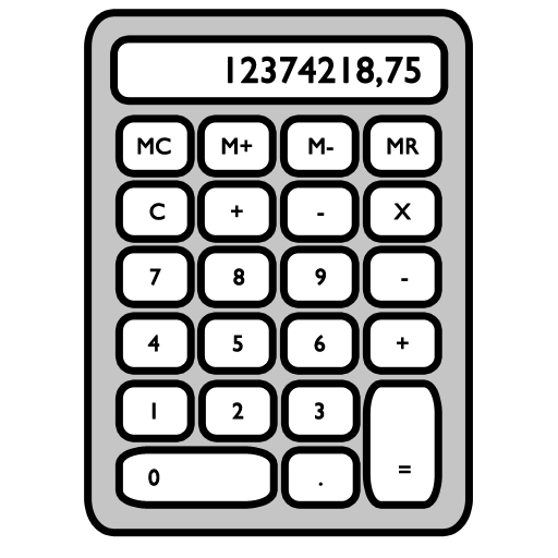 Full Size of calculator