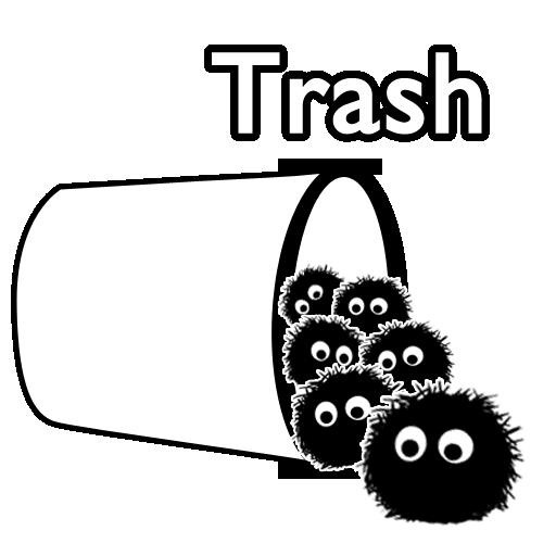 Full Size of trash full